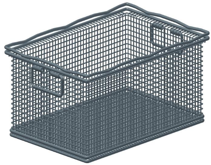 Industrie Waschkorb Model